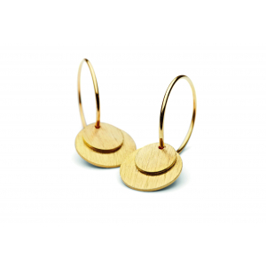Small Coin Earrings